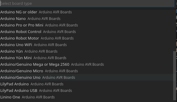 Arduino: Change Board Type